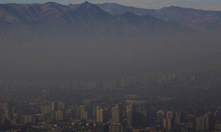 Calidad del aire en Chile está por debajo del promedio de la OCDE