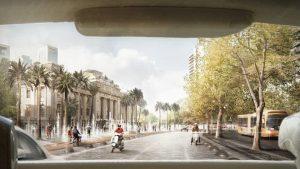 Eligen proyecto para rediseño de Alameda-Providencia