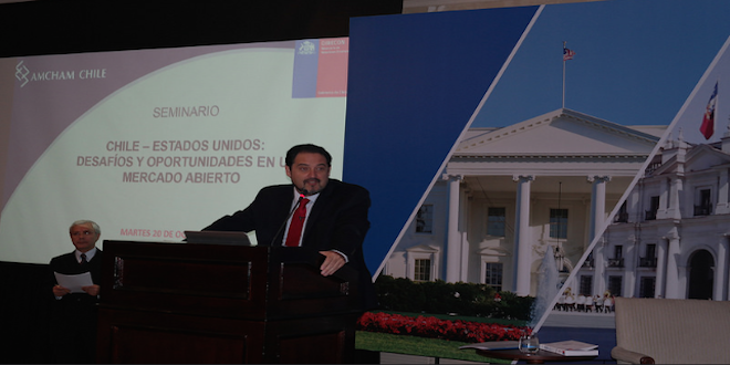 Chile y Estados Unidos consolidan relación comercial