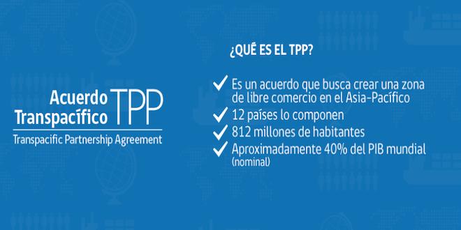 Publican textos del acuerdo TPP