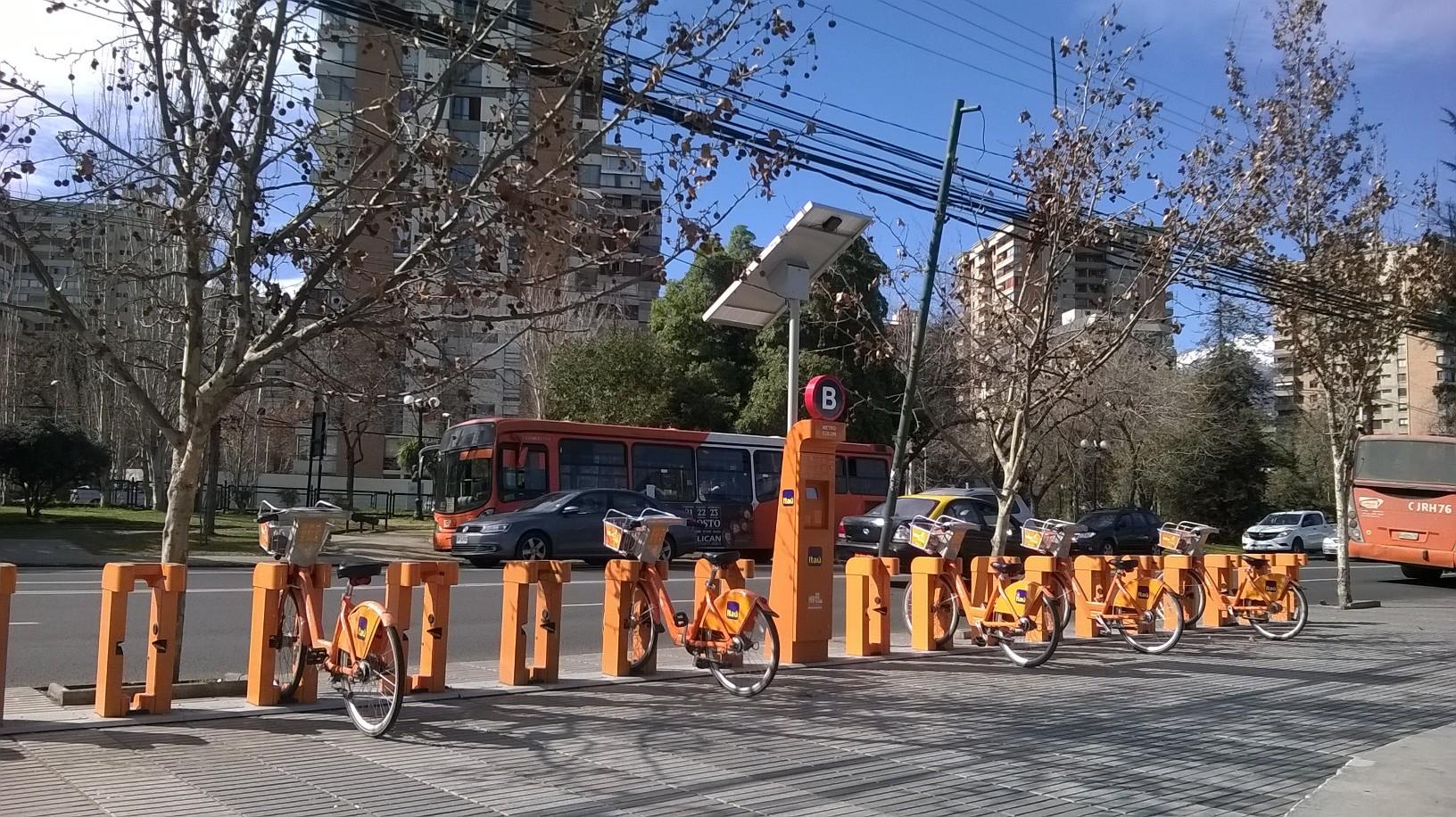 Bikesantiago: 200 estaciones y más de 26 mil inscritos este año