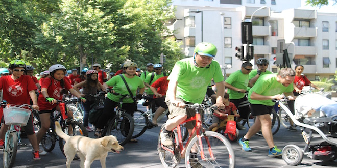 Cicletada por el clima en víspera de la COP21