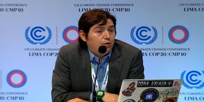 Climate Action Network aboga por metas más ambiciosas en COP21