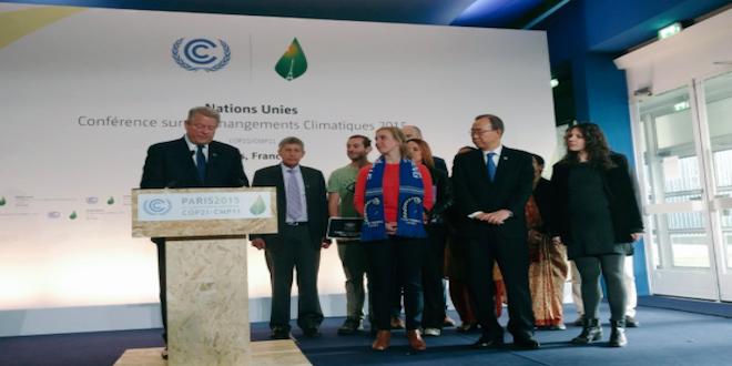 COP21: Sociedad civil pide acuerdo climático para cambiar el mundo