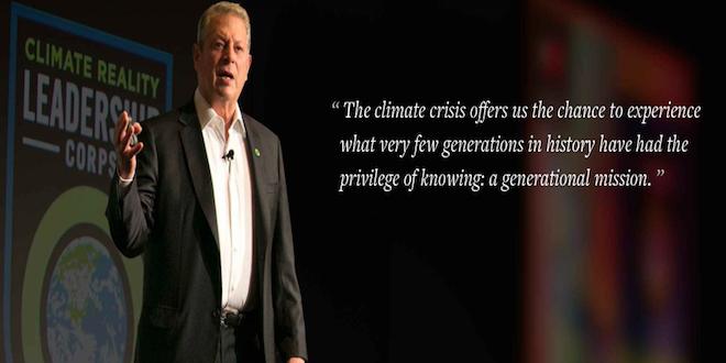 COP21:  Al Gore expresó su respaldo al acuerdo de París