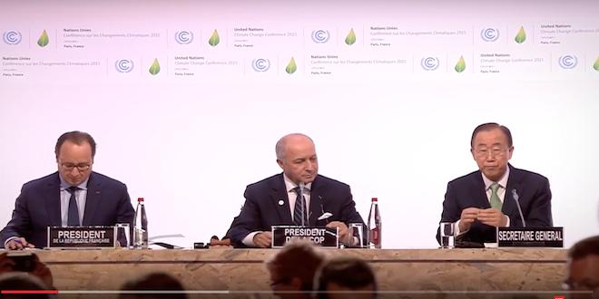 COP21: Comprometen financiamiento a diversas iniciativas