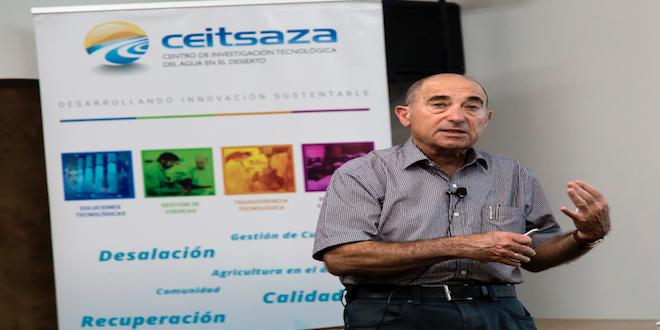 Exponen sobre tecnología israelí para recursos hídricos en Antofagasta