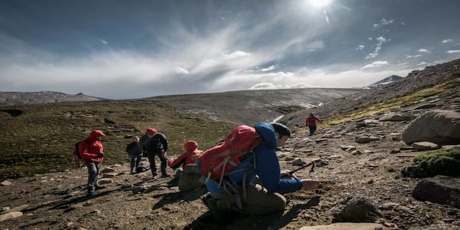Encuentran huellas del puente de los dinosaurios entre Antártica y Patagonia