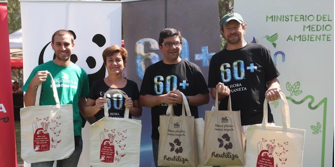 Autoridades en Chile invitan a participar de La Hora del Planeta