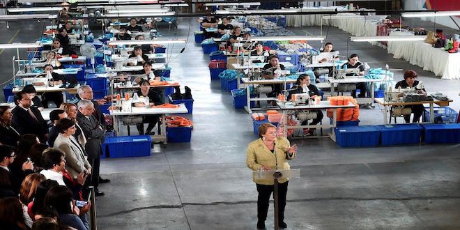 Presidenta Bachelet lanza programa de apoyo Mujer Exporta