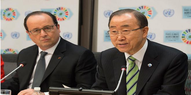 175 países firmaron el Acuerdo de París sobre Cambio Climático