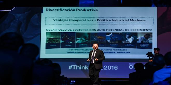"Ministro Céspedes: ""Chile tiene que diversificar su matriz productiva"""