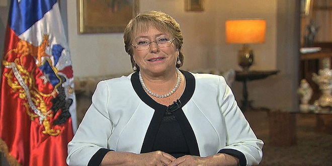 Presidenta Bachelet destaca que economía necesita cambios estructurales