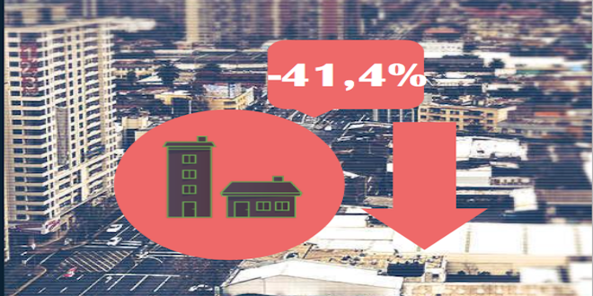 CChC: Venta de viviendas cae 41,4% en primer trimestre
