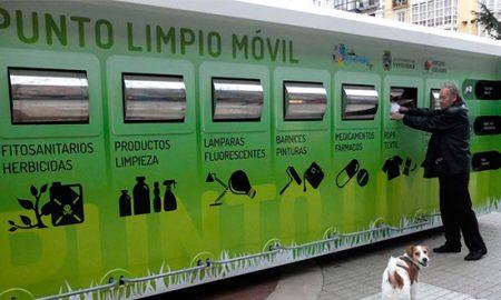 Inauguran primer Punto Limpio Móvil en la Región Metropolitana