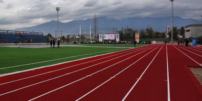 Inauguran estadio Arturo Vidal en San Joaquín