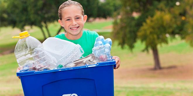 Reciclaje: cuida el medio ambiente en forma entretenida