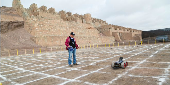 En Antofagasta se compitió con robots de desminado humanitario