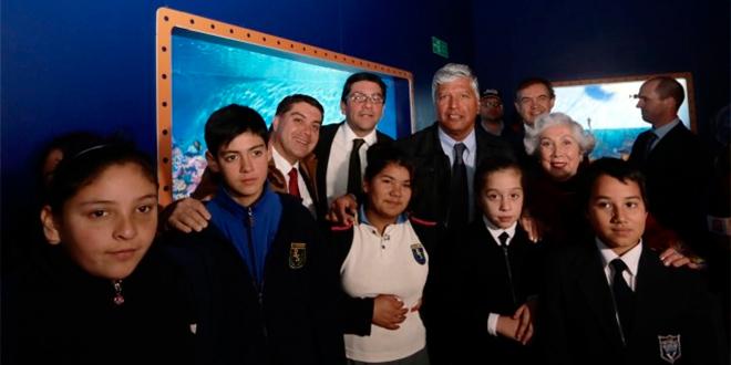 Primer acuario interactivo de Chile abre sus puertas