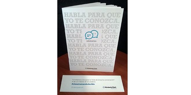 Libro en blanco invita a recuperar el diálogo entre las personas