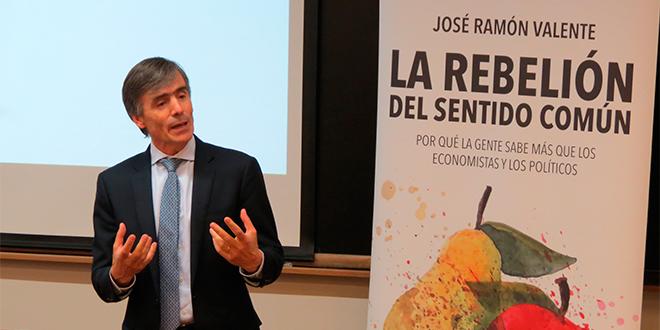 """""""La rebelión del sentido común"""", según José Ramón Valente"""