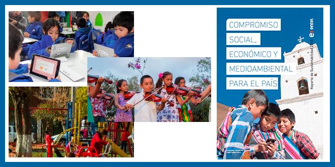 Entel lanzó su reporte de sustentabilidad 2015