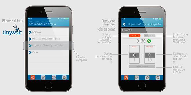 Aplicación permite conocer tiempos de espera en servicios