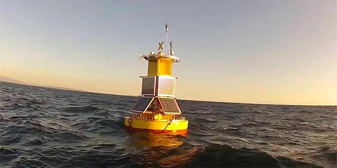 Boya podrá detectar en tiempo real episodios de marea roja