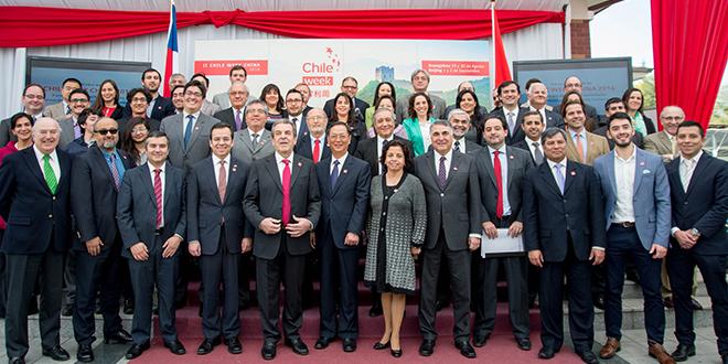 Más de 80 empresas participarán en ChileWeek China 2016