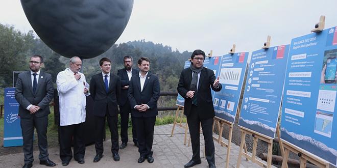 Entregan balance de días críticos por contaminación del aire en Santiago