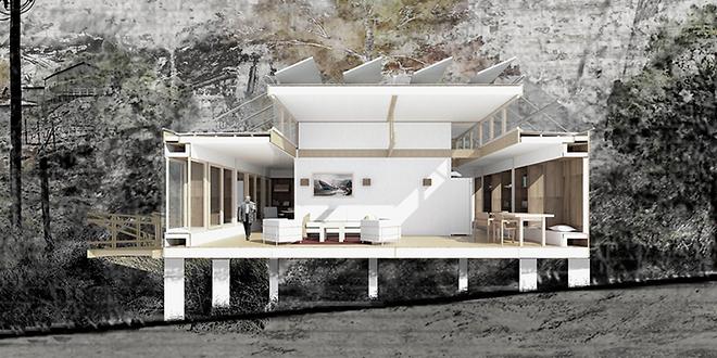 Estudiantes de arquitectura diseñan casa que se adapta a contextos sociales
