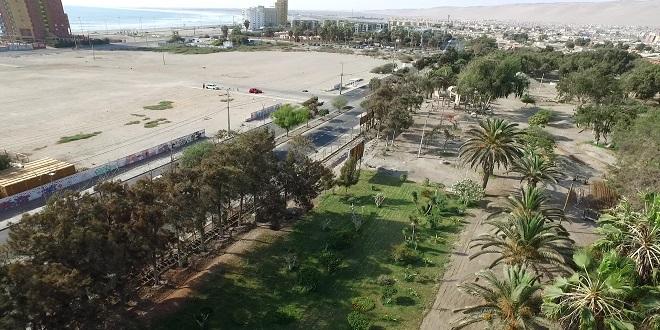 Iniciarán reconstrucción del Parque Centenario en Arica