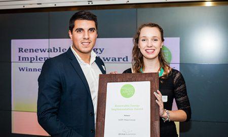 VSPT Wine Group recibe premio por su política de sustentabilidad