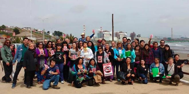 Organizaciones rechazan modelo extractivista y termoeléctricas en Chile