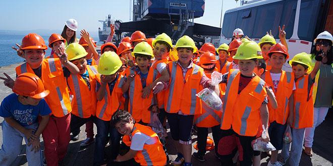 Puerto San Vicente abre sus puertas a escolares
