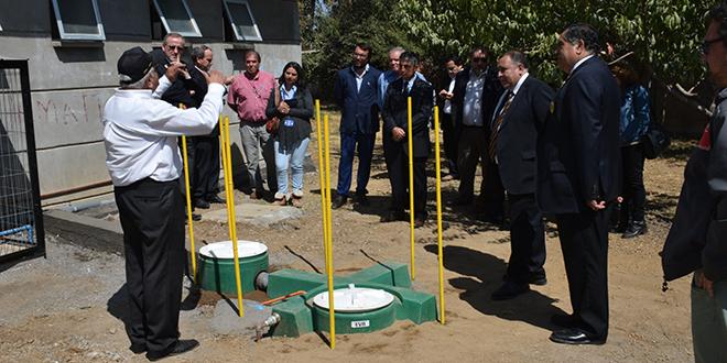 Colegio de Graneros inauguró innovador sistema de reciclaje de aguas grises