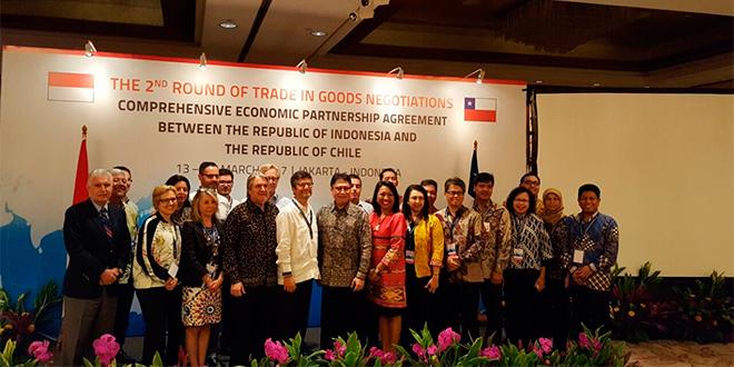 Chile reanudó negociaciones con Indonesia para acuerdo comercial