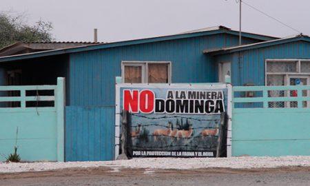 Rechazan proyecto minero portuario Dominga en Región de Coquimbo