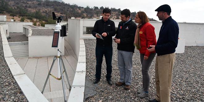 Lanzan primera estación meteorológica en la precordillera metropolitana
