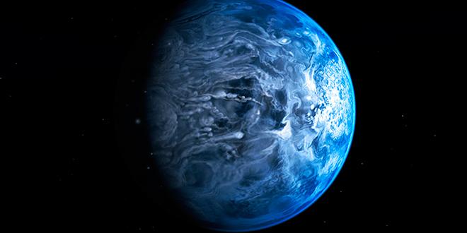 Descubren planeta con cielo azul como el de la Tierra