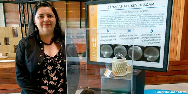 La chilena que caza meteoritos