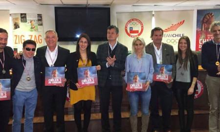 Libro de Felipe Bianchi destaca a grandes deportistas chilenos