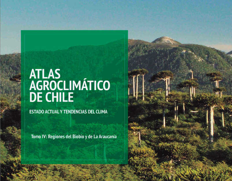 """Lanzan tomo de """"Atlas Agroclimático"""" sobre regiones de Biobío y La Araucanía"""