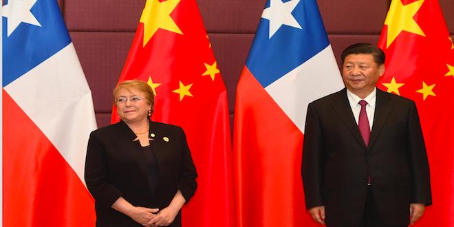Chile y China acuerdan profundizar Tratado de Libre Comercio