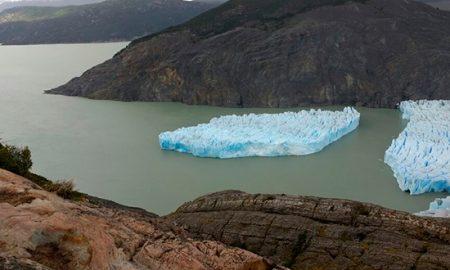 Desprendimiento de hielo en glaciar Grey sorprende a los científicos