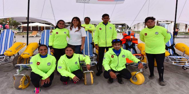 Playa Cavancha de Iquique hace realidad la inclusión