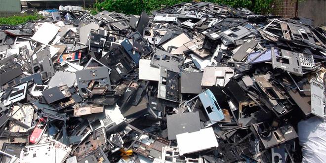 Preocupa crecimiento explosivo de residuos electrónicos