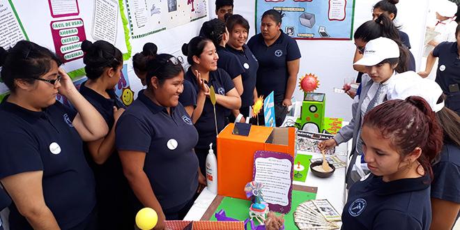 Estudiantes de Arica se lucieron con proyectos solares