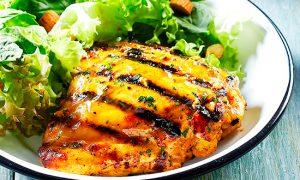 Carne de pollo libres de químicos y alérgenos