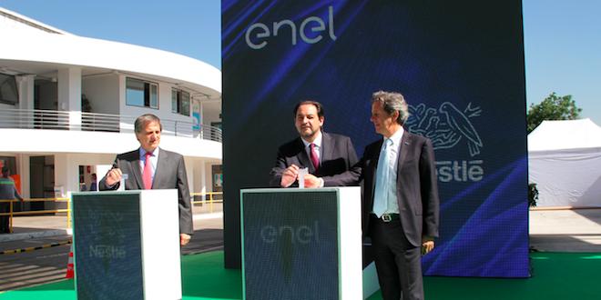 Fábricas de Nestlé en Chile usarán 100% de energías limpias en 2018